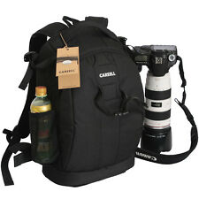"New Professional Waterproof DSLR Camera Backpack Padded Bag 14"" Laptop Rucksack"