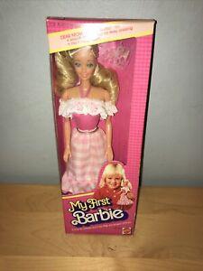 Vintage 1982 My First Barbie #1875 Mattel
