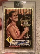 AMELIE MAURESMO 2020 TOPPS TRANSCENDENT HALL OF FAME SUPERFRACTOR AUTO 1/1