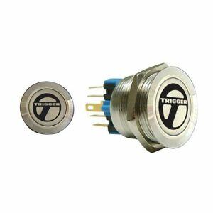Trigger Billet Button :: No Illumination trigger horns TRGA7 muscle hot rod