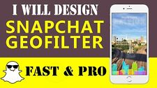 Design A Snapchat Filter And Geofilter For You