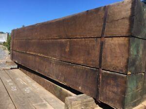 Seasoned 5 years Hardwood Ironbark Posts & Rails 200mm $178ea 125mm $112ea