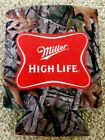Miller High Life COOZIE KOOZIE  Hunting Camouflage New & Unopened Package of 2