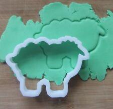 Mouton Agneau Forme Cookie Cutter Biscuit Pâtisserie Fondant Stencil Farm Animal