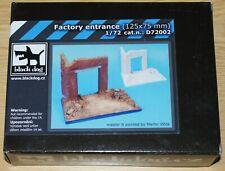 Diorama Grundplatte Fabriktor 1 von Blackdog in 1/72