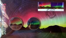 RARE 2014 Southern Lights Medallion Cover Limited Edition FDC PNC Tasmania Stamp