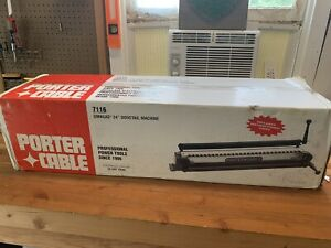 New Porter Cable OmniJig 24 inch Dovetail Jig Machine Model 7116