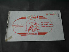 BUVARD JOUETS JEU DE JOKARI
