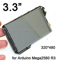3.3Inch TFT LCD Display Module + Touch Panel +SD Reader For Arduino Mega2560 R3