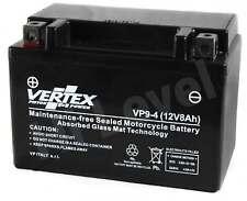 Vertex Battery For Polaris Outlaw 450 MXR 2008