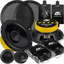 ESX QXE-6.2C 16,5cm 2 Wege Kompo Lautsprecher Boxen Set QXE6.2C Compo Speaker