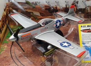 Motor Max 1/48 Scale Diecast Aircraft 76336 - P-51 Mustang