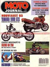 MOTO JOURNAL 1051 Essai YAMAHA GTS 1000 XJ 600 HARLEY DAVIDSON 1340 Dyna Glide