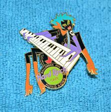 HARD ROCK CAFE 2002 Hong Kong Black Spider Playing Keyboard Pin # 15131