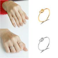BFF Best Friends Engraved Friendship Infinity Rings Women Jewelry Gold/silver