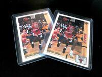 Michael Jordan 1991-92 PSA 10? 2 NEW CARDS Upper Deck #44  MJ CHICAGO BULLS 23