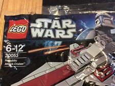 Lego Star Wars 30053 Republic Attack Cruiser Polybag New/Sealed/Retired/H2F