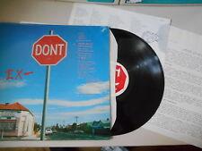 LP Pop EX- - Don't / Stop (12 Song) SHANGHAI REC / Presskit / + LyricSheet