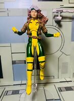 """Marvel Diamond Select X-Men Rogue Action Figure 6"""" CUSTOM - Fits With Legends"""
