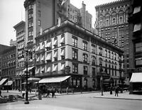 "1908 Cafe Martin, New York City, New York Vintage Photograph 8.5"" x 11"" Reprint"