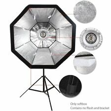 GODOX 95cm Octagon Umbrella Softbox & Bowens Mount Holder for Studio Flash