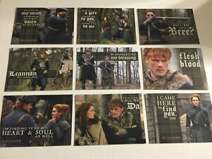 Outlander Season 4 Father & Daughter F1-F9 9 Chase Cards Sub-Set