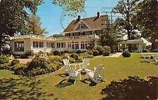 Olney Maryland Inn Courtyard Garden View Vintage Postcard K38268