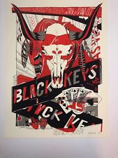 The Black Keys Las Vegas Poster Art Print 2012 By Tyler Stout