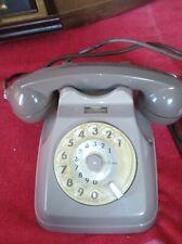 Vecchio telefono di casa, vintage, color grigio, funzionante, vedi info..