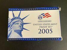 2005 US Mint Silver Proof Set in Original Box & CoA