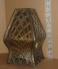 Vtg Brady Lite Co Arts & Crafts Bronze Floor Lamp Shade Detroit, Mi Antique