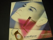 SINEAD O'CONNOR Grammy Nominee BEST ROCK VOCAL FEMALE 1989 Promo Poster Ad MINT