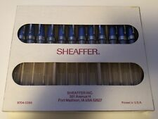 12 sheaffer fountain pen & 12 black cartridges 🇺🇸