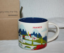 Starbucks France YAH You Are Here Cheese Wine Alps  Mint NIB FREE SHIP