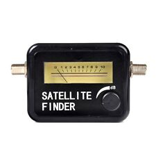 Satellite Signal Finder Meter for Free to air, FTA, Installation, DIY Satfinder