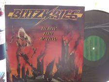 BLITZKRIEG READY FOR ACTION LP ON TALEN RECORDS  EX+ COPY
