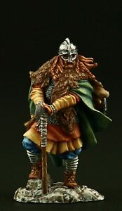 Tin soldier, Collectible, Runecraft: Viking Jarl, IX-X cc., 54 mm, Medieval