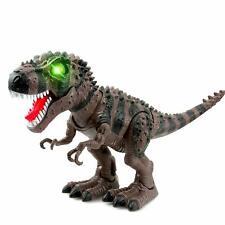 Wonderplay Battery Operated Tyrannosaurus with Light Sound; Walks, Moves & Roars