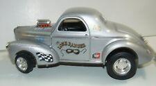 """1/18, custom 1941 Willys  """"the Lone Ranger"""" drag car, pro street,"""