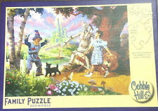 The Wizard Of Oz Jigsaw Puzzle Family 400 Piece Cobble Hill 2013 Dorothy Toto