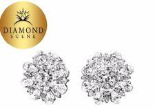 DIAMOND EARRING PEAR MARQUISE ROUND SHAPE SET EARRING