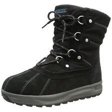 Skechers Storm Cloud Cumulus 48471 Womens Black Waterproof Snow Winter Boots