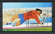 s5952) CAMBODGE 1985 MNH** WC Football'86 - CM Calcio S/S
