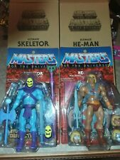 HE-MAN SKELETOR ULTIMATE SUPER7 sealed MASTERS OF THE UNIVERSE FILMATION CLASSIC