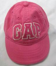 BABY GAP Girls Pink Logo Baseball Cap Sz 0-6m