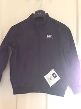 Helly Hansen Junior Transat Bomber Style Waterproof jacket Navy size 128/8 Years
