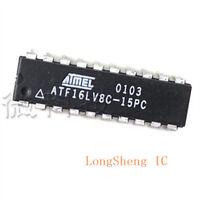 5PCS ATF16LV8C-15PC IC PLD 15NS 20DIP 16LV8 F16LV8 new
