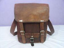 Men Leather Vintage Messenger Shoulder Satchel Bag S Laptop School Briefcase New