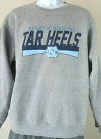 Gray UNIVERSITY OF NORTH CAROLINA TAR HEELS Sweatshirt Vintage Medium Mens M