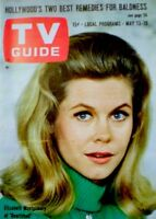 TV Guide 1967 Bewitched Elizabeth Montgomery Phyllis Diller EX/NM COA Rare